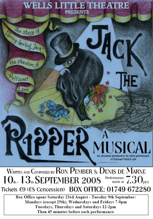 Jack the Ripper, the musical