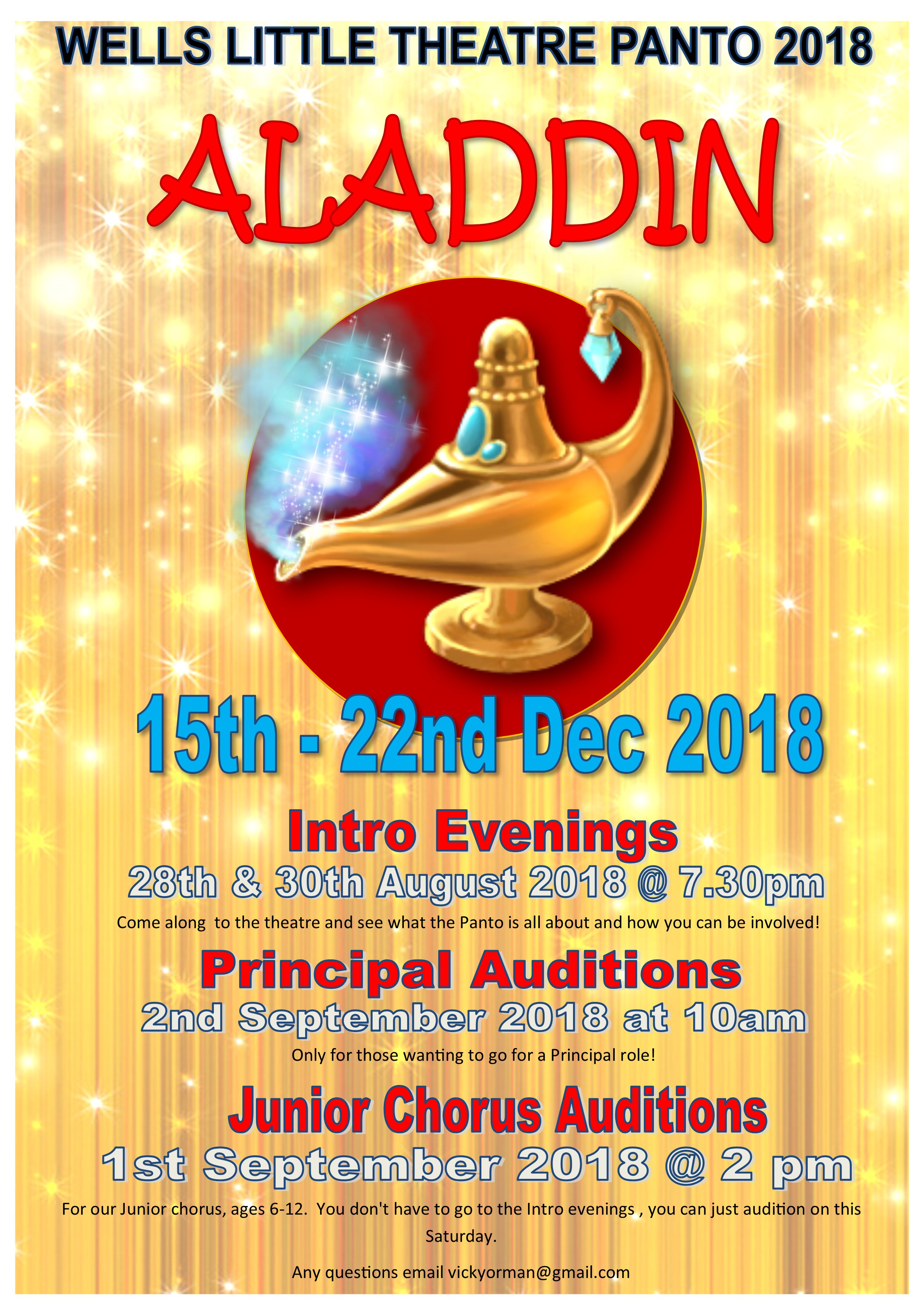 Aladdin Introduction Evening 1