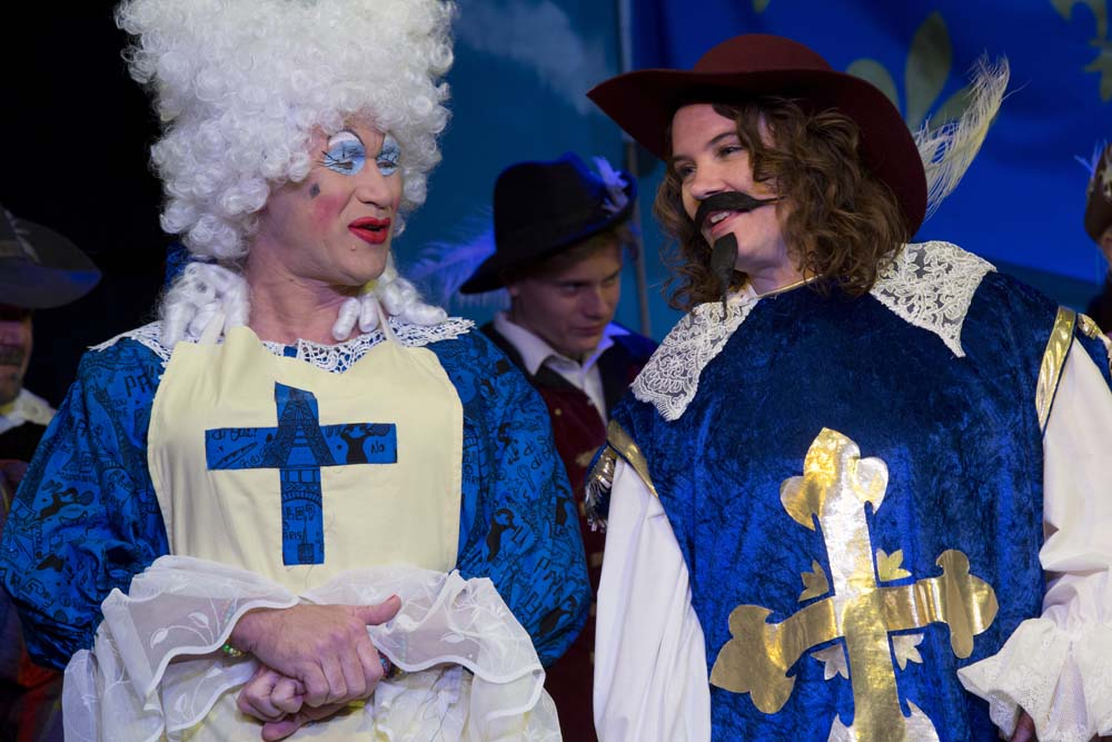 The Three Musketeers - The Panto! 21