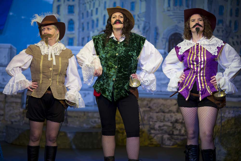 The Three Musketeers - The Panto! 7