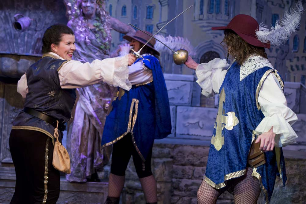 The Three Musketeers - The Panto! 27
