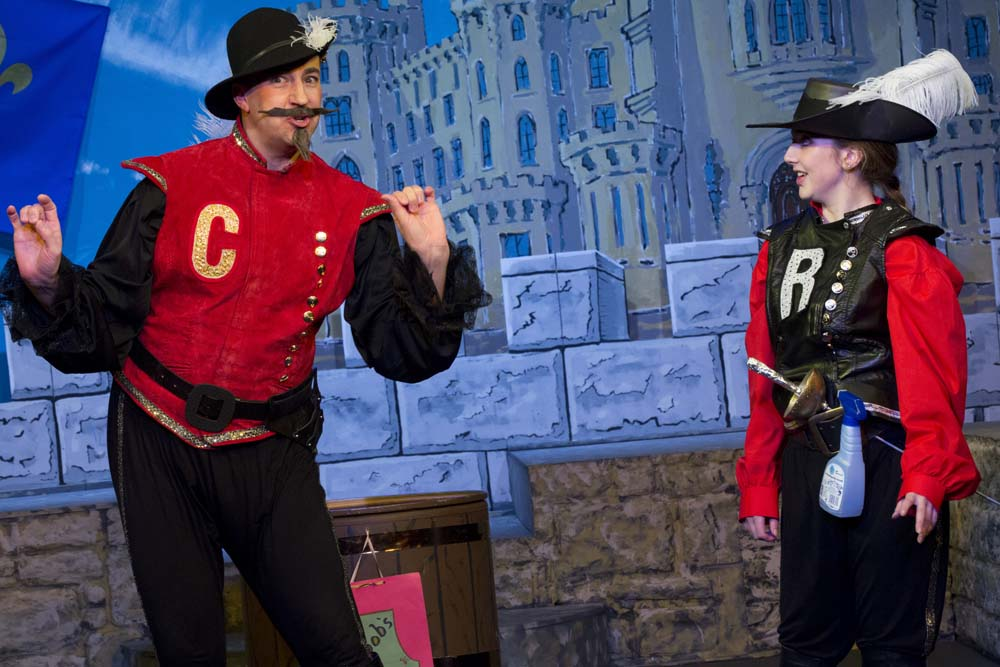 The Three Musketeers - The Panto! 15