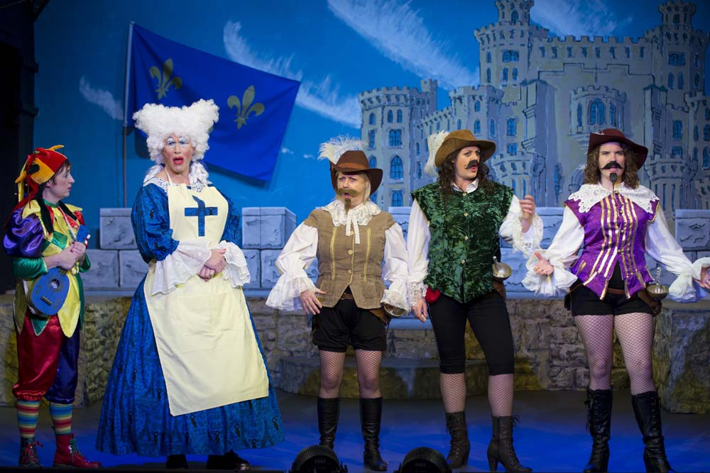 The Three Musketeers - The Panto! 6