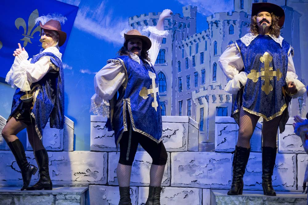 The Three Musketeers - The Panto! 20